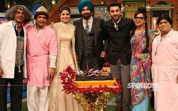 Ranbir Kapoor, Anushka Sharma, Aishwarya Rai Bachchan Have A Gala Time At The Kapil Sharma Show
