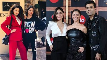 Kangana Ranaut's Sister Rangoli Criticises Kareena Kapoor Khan For Discussing Alia Bhatt And Ranbir Kapoor's Marriage At A Film Festival