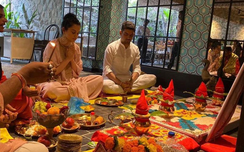 Kangana Ranaut Launches Her Production Company; Rangoli Shares Pics From Puja