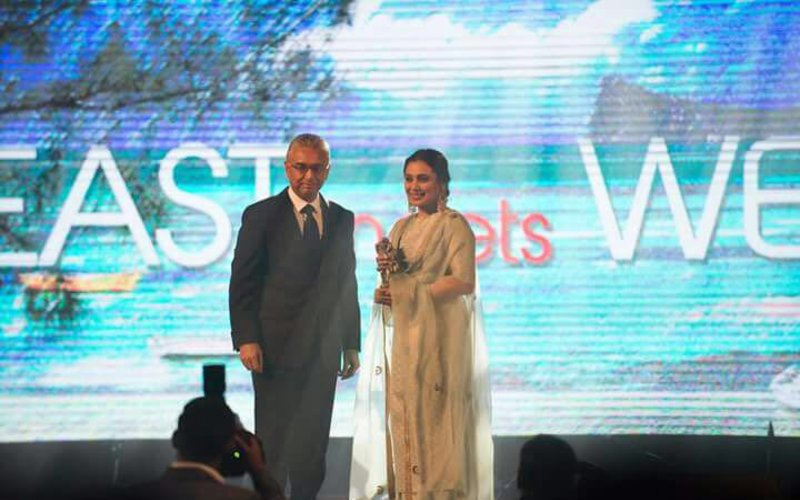 Rani Mukerji Gets a Special Mauritian Salute, Wins 'Outstanding Contribution To Cinema Award'