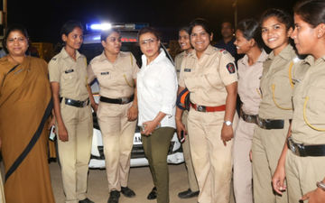 Mardaani 2: Rani Mukerji Meets Special Night Patrol Police, Salutes Them For Their Sacrifice