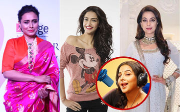 Rani Mukerji, Sonam Kapoor And Juhi Chawla Talk To Vidya Balan About Their Mothers-In-Law