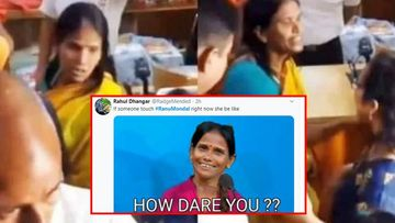 Ranu Mondal's 'Don't Touch Me' Moment Gives Birth To Some Hilarious Memes – Pictures Inside