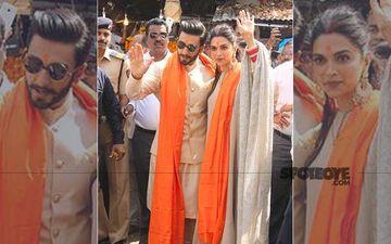 Deepika Padukone-Ranveer Singh Visit Siddhivinayak Temple To Seek Lord Ganesha's Blessings