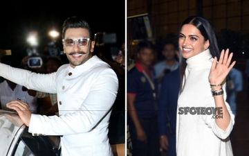 Ranveer Singh-Deepika Padukone Wedding: Lovebirds Leave For Italy Twinning In White- Watch Videos