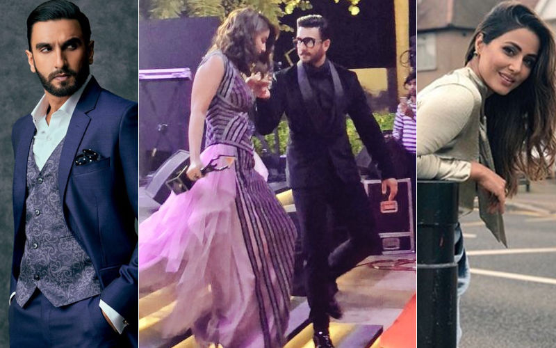 Ranveer Singh Shows His Chivalry For Hina Khan, And She Can't Stop Praising Him