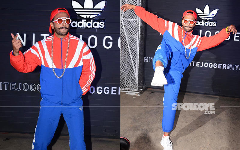 Ranveer Singh Launches New Adidas Originals Nite Jogger Collection