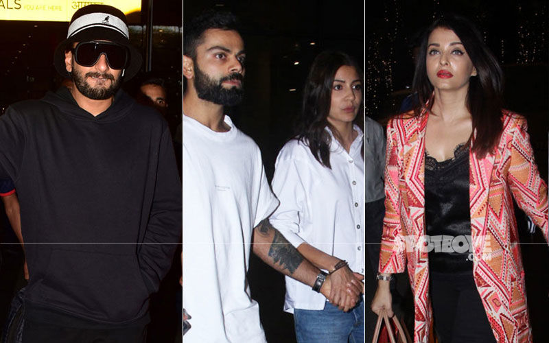 Ranveer Singh Unleashes His Gully Boy Side, Anushka-Virat Walk Hand-In-Hand, Aishwarya Rai Papped Sans Hubby