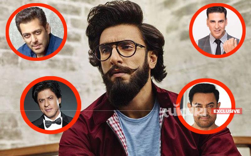 साल 2018 में तीनों खान पर भारी पड़े रणवीर सिंह, देखिए इस बारे में क्या सोचता है ये एक्टर