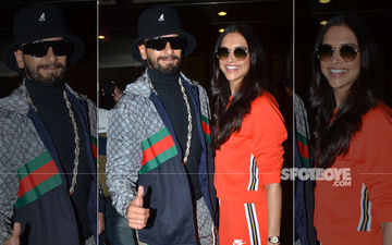 Deepika Padukone-Ranveer Singh Head To London To Unveil DP's Madame Tussauds Wax Statue- View Pics