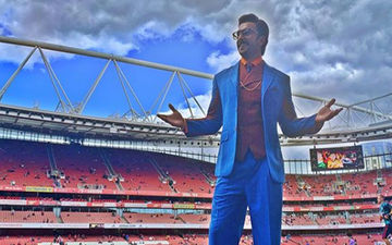 Ranveer Singh Raps For His Favourite Football Team Arsenal As He Attends English Premier League, Team Posts The Video
