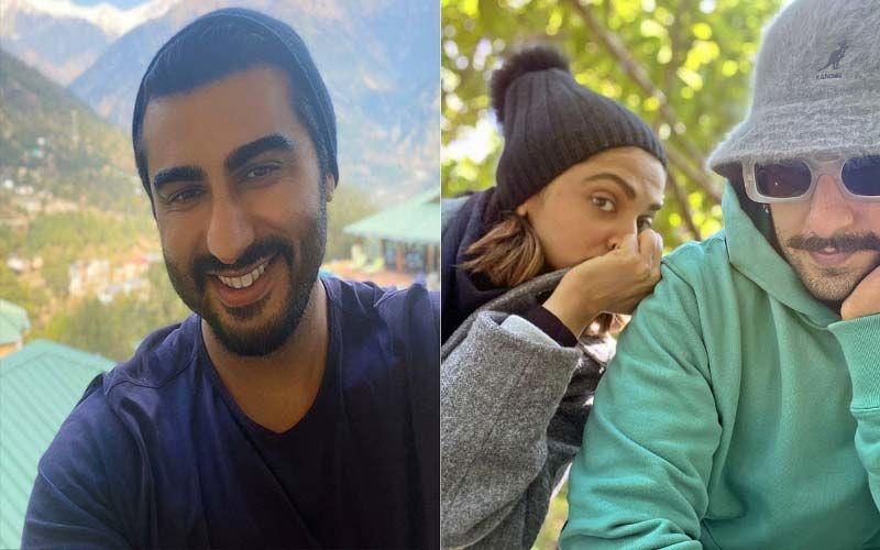Ranveer Singh Looks Dapper In A Blue Suit; Arjun Kapoor Calls Him 'Cleavage King', Deepika Padukone Has THIS Question
