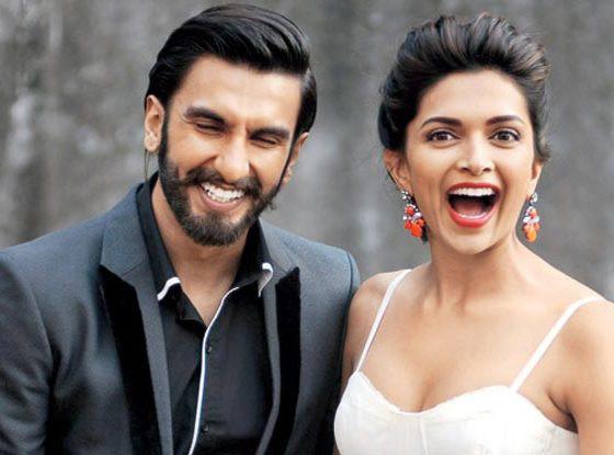 Ranveer Singh With Deepika Padukone