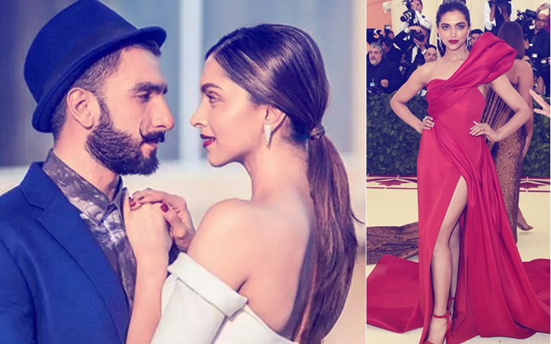 Deepika Padukone Posts A Red Hot Picture & Ranveer Singh Says...