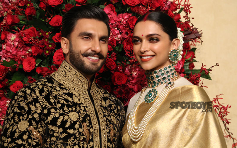 Deepika Padukone And Ranveer Singh's UNSEEN Photos From Their South Indian Style Wedding Go Viral; Couple Raise A Toast As Newlyweds - Pics Inside