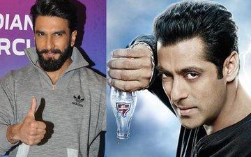 Will Ranveer Singh drink away Salman Khan's Thums Up?