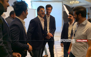 FIRST EXCLUSIVE PICTURES Of Team '83: Ranveer Singh, Jatin, Kabir Khan And Others Gear Up In Chennai