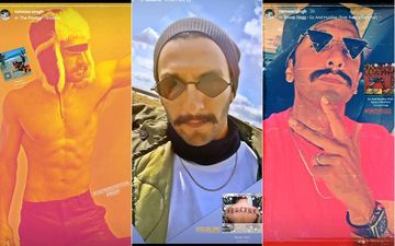 Ranveer Singh Flaunts His Coolest Collection Of Quirky Shades; We Bet No One Else Can Own Them The Way He Does