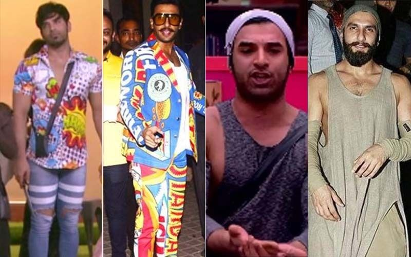 Copy Cat Paras Chhabra! Five Times The TV Star Appeared To Be 'Inspired' By Ranveer Singh's Dressing Sense