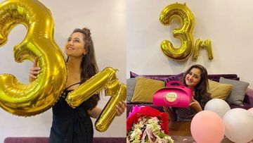 Bigg Boss 13's Rashami Desai Clocks 3M Followers On Insta; Celebrates With A Yummy Cake, Fans Say 'Your Beauty Is Irresistible'