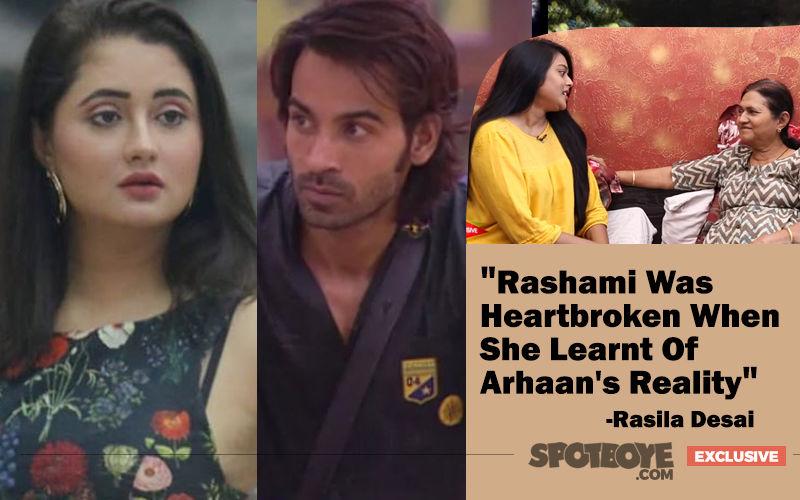 Bigg Boss 13: Rashami Desai's Mother Rasila On Arhaan Khan: 'Glad That My Daughter Learnt Of His Reality'- EXCLUSIVE