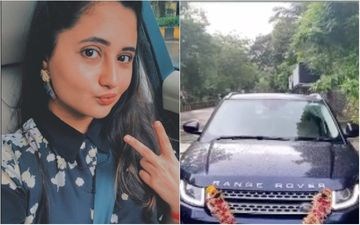 Bigg Boss 13's Rashami Desai Brings A New Swanky Ride Home And Goes For A Spin With Her Friend