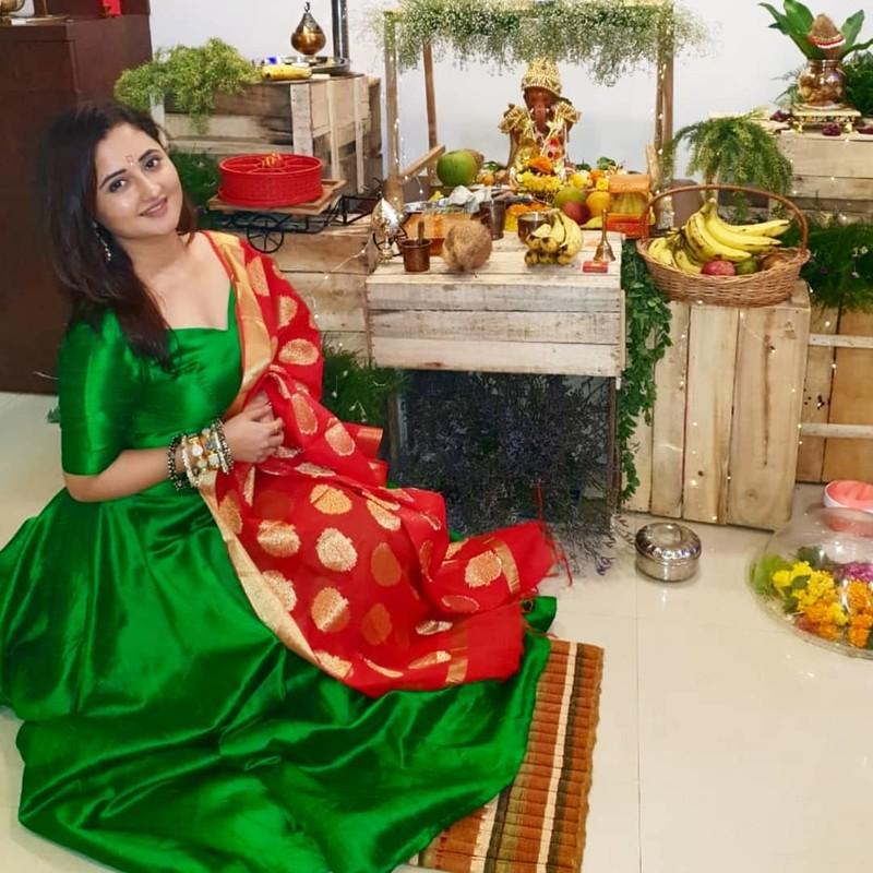 Rashmi Desai Home Ganpati