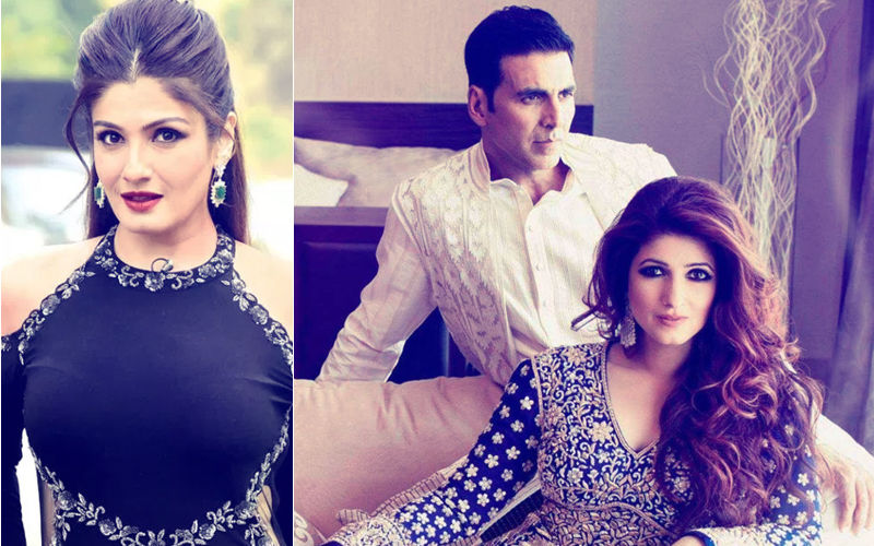 Raveena Tandon Says Star Wives Support Predatory Husbands; Twitterati Asks If She's Referring To Akshay Kumar And Twinkle Khanna
