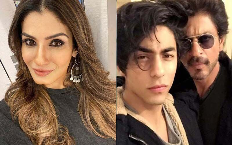 Raveena Tandon Calls Aryan Khan's Arrest 'Heartbreaking'; Says, 'It's A Young Man's Life And Future They Toying With'