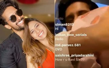 Ravi Dubey Gets Interrupted By Wife Sargun Mehta During His Instagram LIVE Session; The Reason Is Simply Adorable – VIDEO