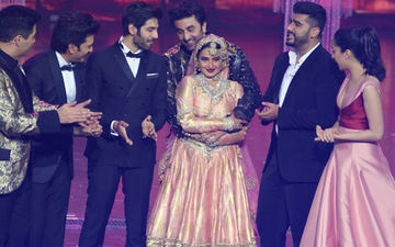 Back After 20 Years, Rekha Grooves To Salaam-E-Ishq With Ranbir, Arjun, KJo, Shraddha & We Are Floored!