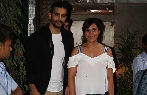 Richa Chadha Angad Bedi launching the promo of the show india inside out