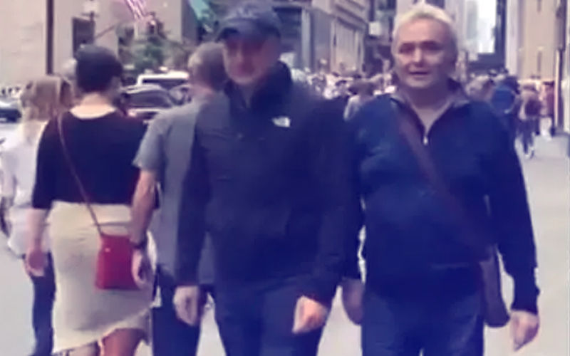 Rishi Kapoor Shares A Video From New York As He Strolls With Anupam Kher
