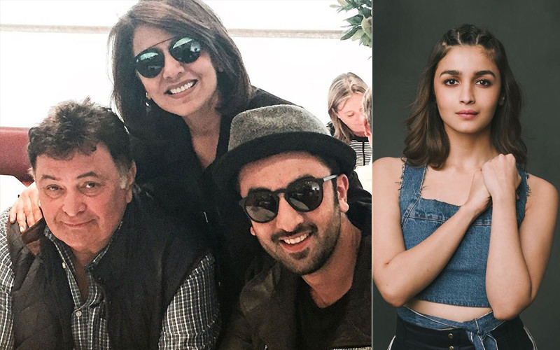 Rishi Gets Treated In Nyc Ranbir s Ladylove Alia Reaches To Be With Kapoors