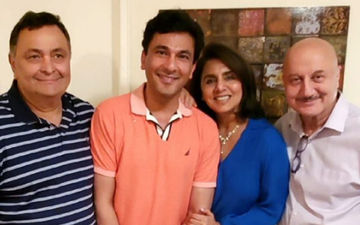 Rishi Kapoor and Neetu Kapoor Chill With Celebrity Chef Vikas Khanna: New York Diaries