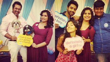 Inside Pics - Taarak Mehta Ka Ooltah Chashmah's Rita Reporter AKA Priya Ahuja Rajda Hosts Baby Shower; Goli And Ex-Sonu Attend