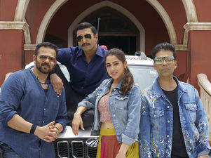 Pics & Video: Day 1 On The Sets Of Ranveer Singh & Sara Ali Khan's Simmba
