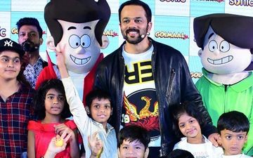 Rohit Shetty Launches His Hit Franchise Golmaal's Animated Show With Gang Of Kids!