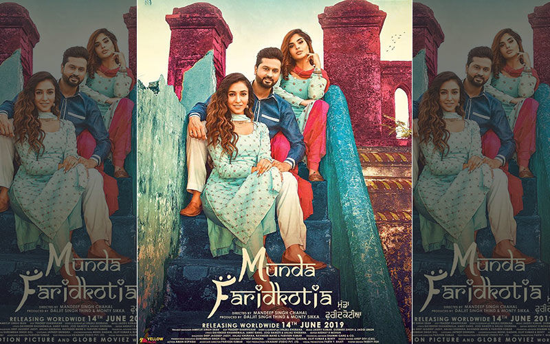 Roshan Prince Starrer 'Munda Faridkotia' First Look Poster is Out Now