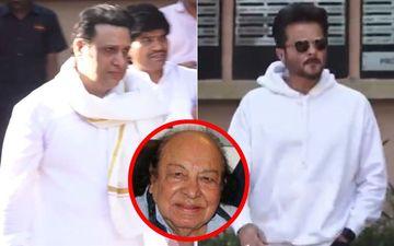 Pictures From Funeral Of Acting Guru Roshan Taneja: Adieu, Sir!