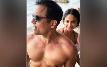 Rubina Bajwa Pens A Cute Note For Beau Gurbaksh Chahal On Valentine's Day: Love Loving You