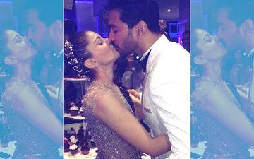 Inside Videos: Rubina Dilaik & Abhinav Shukla Share A Passionate Kiss At Their Starry Reception