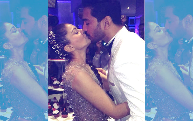 Inside Videos: Rubina Dilaik & Abhinav Shukla Share A Passionate Kiss At Their Starry Reception