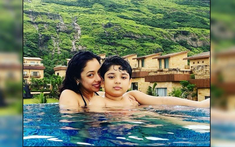 Anupamaa Actress Rupali Ganguly Gives Fans A Glimpse Of Her Pool Day With Son Rudransh And It's Unmissable