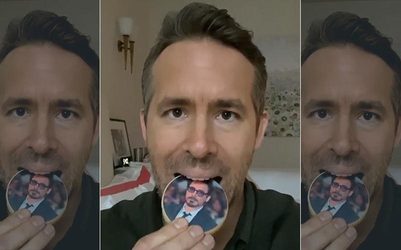 Snap! Ryan Reynolds Responds To Robert Downey Jr's 'Eat Me' Challenge; Deadpool Relishes On Iron Man Cookies