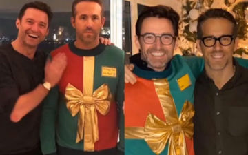 Ryan Reynolds And Hugh Jackman's Famous Christmas Sweater Marks A Return But For A Good Cause