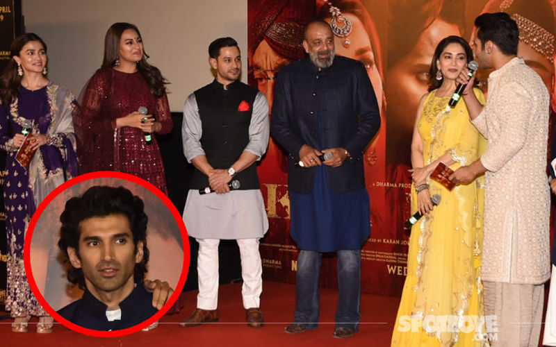 Kalank Trailer Launch: Aditya Roy Kapur's Wardrobe Malfunction Delays His Arrival