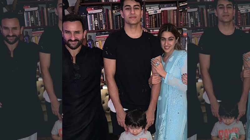 Saif Ali Khan Is Asked About Going Clubbing With Taimur And Ibrahim Ali Khan; His Response Is Hella' Cool