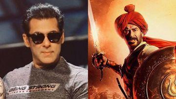 Tanhaji-The Unsung Warrior Trailer: Salman Khan Hails Ajay Devgn's Performance, Says 'Tanhaji Manaji'