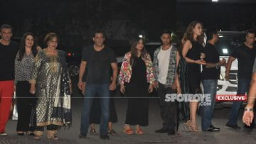Salman Khan-Iulia Vantur, Aayush Sharma And The Entire 'Khan'daan Grace Helen Khan's Birthday Bash – PICS